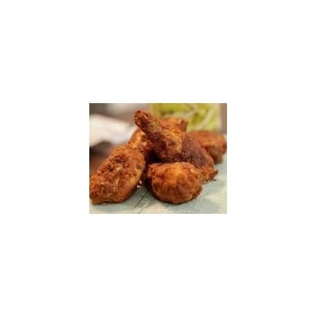 Pièces de poulet frit